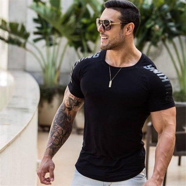 T-shirt Musculation Pour Hommes Pour Physique Incroyable - Noir 2 / M