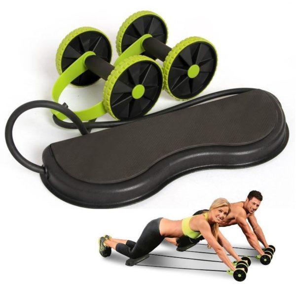 New Muscle Exercise Equipment Home Fitness Equipment Double Wheel Abdominal Power Wheel Ab Roller Gym Roller 1024x1024 013f01ad bb1b 4192 9b6d 08a2c0fa8d3f Roll Ab Trainer : Entraînement complet, intense et sans efforts en seulement 5 minutes par jour