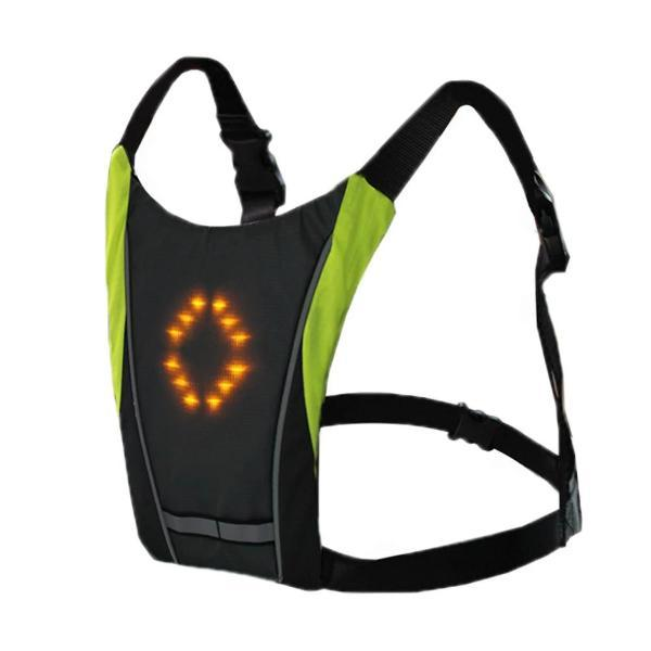 Nouveau 2019 LED sans fil cyclisme gilet 20L vtt v lo sac s curit clignotant LED fd336275 4908 4986 86d6 340db705e506 Sécurité Gilet de Cyclisme à LED : Rechargeable par USB