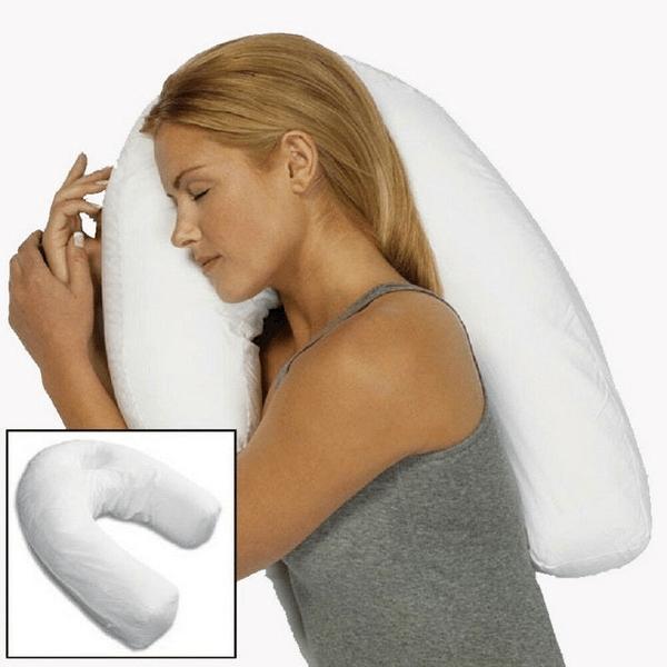 OreillerEnFormeDeUProtectionDuCouetDeLaColonneVertebrale Oreiller En Forme De U : Protection Du Cou et De La Colonne Vertébrale
