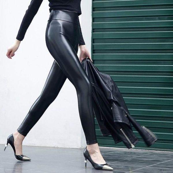 Pantalon En Cuir Pour Femme: Article Indispensable À Avoir Dans Votre Garde-robe - S
