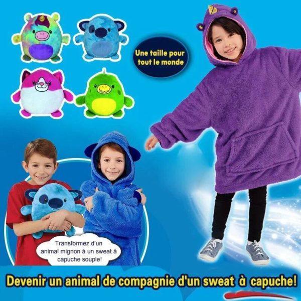 PetHoodie5 Sweat À Capuche en Forme D'Animal Familier : Sweat-Shirt Portatif et Chaud