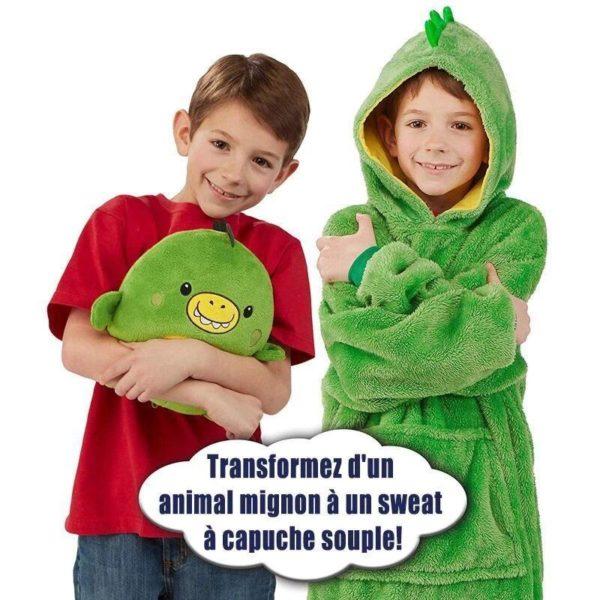 PetHoodie8 Sweat À Capuche en Forme D'Animal Familier : Sweat-Shirt Portatif et Chaud