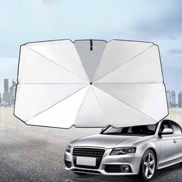Parasol de Pare-brise pour Voiture: Protège Votre Voiture Contre La Chaleur De L'été - 65X125cm