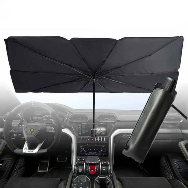 Parasol de Pare-brise pour Voiture: Protège Votre Voiture Contre La Chaleur De L'été - 79X145cm