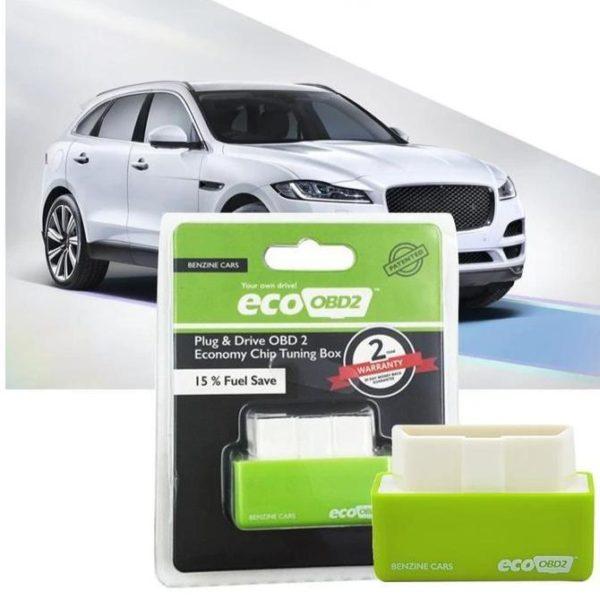 Eco Obd2 ™ – Economiseur de carburant pour Voitures Diesel et Essence - Essence verte