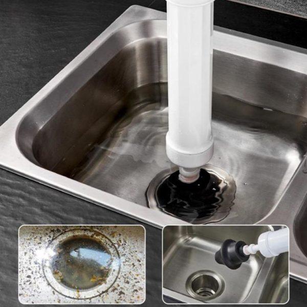 Pompe hautepressionpourtoilettes Puissant blaster air drast 4 DébouchePlus : Pompe À Haute Pression Pour Toilettes