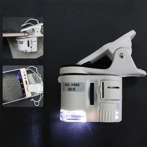 PortableMicroscopePourSmartphone 5 Portable Microscope Pour Smartphone: Prendre Des Images De Qualité Avec Un Ratio De Magnification De 500x