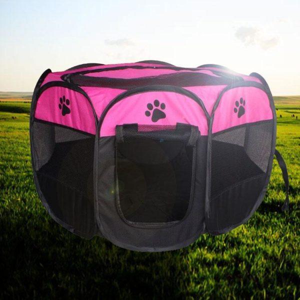 Portablecagepourchien 1 Portable Cage Pour Chien: Idéale Pour Que Votre Chien Ou Chat Se Sente Parfaitement À L'aise