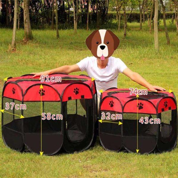 Portablecagepourchien 2 Portable Cage Pour Chien: Idéale Pour Que Votre Chien Ou Chat Se Sente Parfaitement À L'aise