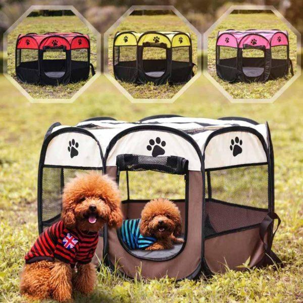 Portablecagepourchien 3 Portable Cage Pour Chien: Idéale Pour Que Votre Chien Ou Chat Se Sente Parfaitement À L'aise