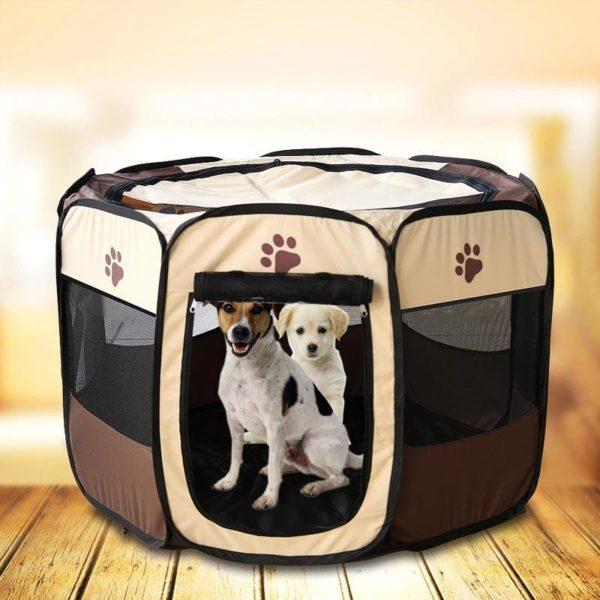 Portablecagepourchien 4 Portable Cage Pour Chien: Idéale Pour Que Votre Chien Ou Chat Se Sente Parfaitement À L'aise