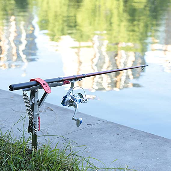 Porte canneAPeche 4 Porte-Canne À Pêche: Accessoire De Pêche Indispensable Tant Pour Un Débutant Que Pour Un Professionnel