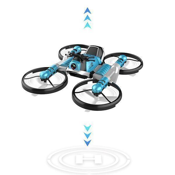 Quadricoptere Pliant Avec Transmission Wifi En Temps Reel 2 Quadricoptère Pliant : Avec Transmission Wifi En Temps Réel