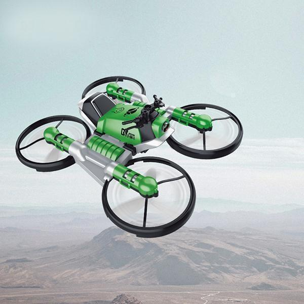 Quadricoptère Pliant : Avec Transmission Wifi En Temps Réel - Vert Avec appareil photo 0,3 MP