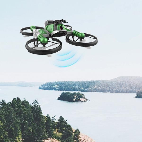 Quadricoptere Pliant Avec Transmission Wifi En Temps Reel 6 Quadricoptère Pliant : Avec Transmission Wifi En Temps Réel