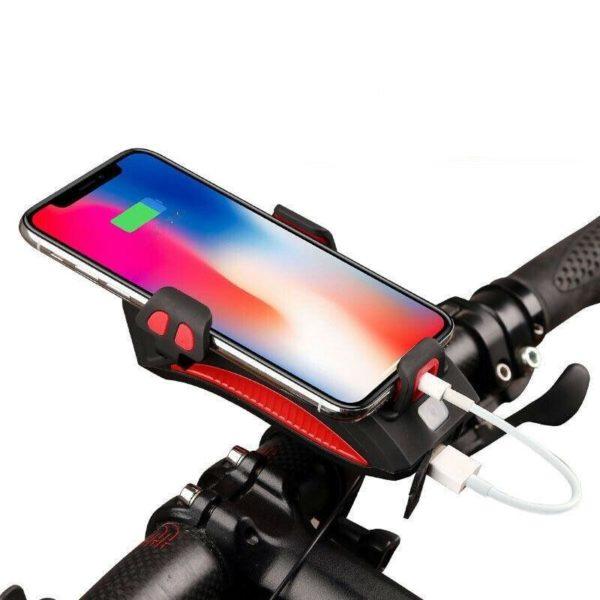 Quatre en unVeloSupportDeTelephone 3 Quatre-en-un Vélo Support De Téléphone: Conçu Pour Maintenir Parfaitement Votre Téléphone En Toutes Conditions