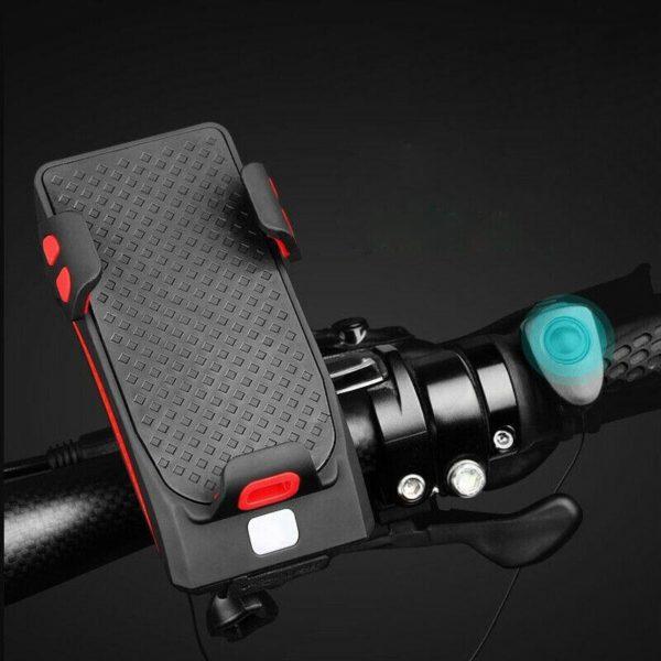 Quatre en unVeloSupportDeTelephone 6 Quatre-en-un Vélo Support De Téléphone: Conçu Pour Maintenir Parfaitement Votre Téléphone En Toutes Conditions