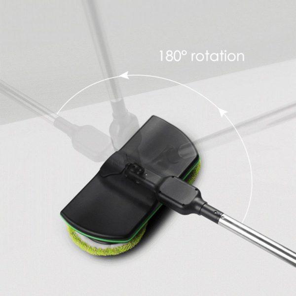 Rechargeable 360 degree Rotation Cordless Floor Cleaner Scrubber Polisher Electric Rotary Mop Microfiber Cleaning Mop for 6f4e59b2 5294 43f0 8a96 2d454376fabb Balai Electrique Sans Fil : Pratique et Très Efficace