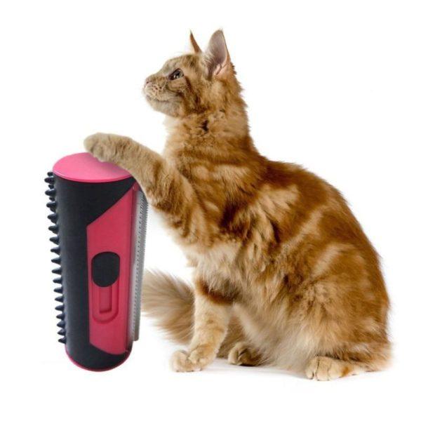 Rouleau anti poils d animaux brosse de nettoyage pour chiens et chats brosse de nettoyage pour Brosse Pour Animaux: Débarrassez-Vous Enfin Des Poils Morts Qui S'accrochent Partout