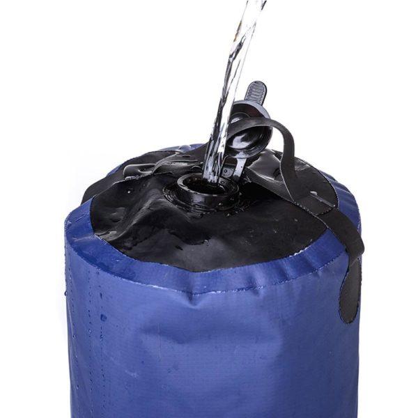 Sac d eau gonflable ext rieur de pression de douche de PVC de 11L sac d 21e76967 01c8 4824 9880 9b494c82a4cd Douche De Camping Et De Voyage: Prenez Une Douche Partout Ou Partout