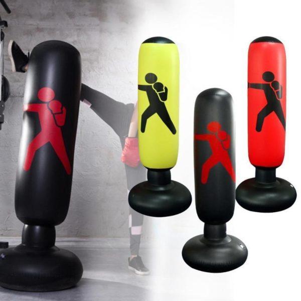 Sac de boxe gonflable Vertical PVC paississement pilier de boxe gobelet lutte colonne sac de boxe 3bf7375c 640d 4992 a7a8 baea09213d17 Sac De Frappe Gonflable: Vous Permet De Vous Exercer Sans Limites