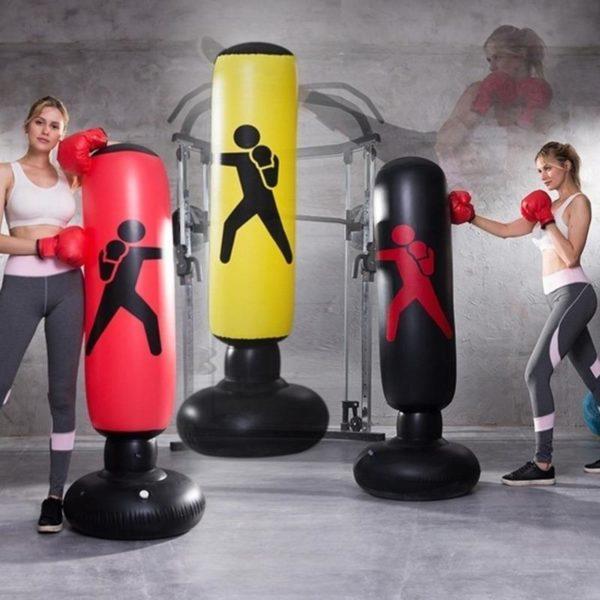 Sac de boxe gonflable Vertical PVC paississement pilier de boxe gobelet lutte colonne sac de boxe 756977fa 433f 4334 bfc2 0a19891524e2 Sac De Frappe Gonflable: Vous Permet De Vous Exercer Sans Limites