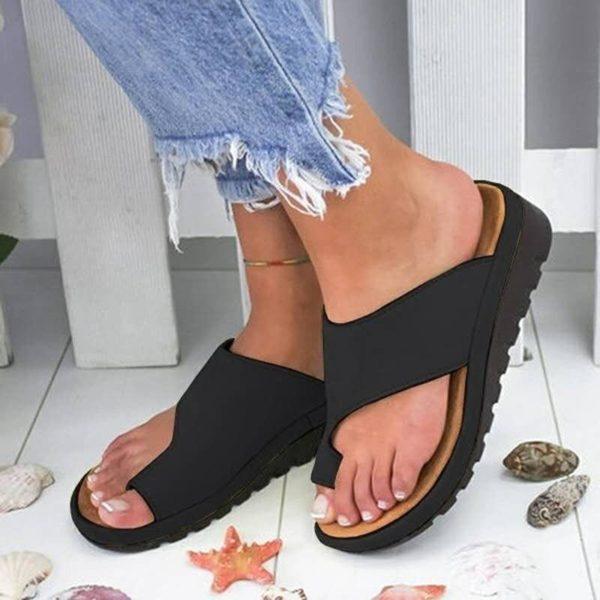 SandalesOrthopediquesPourFemmesBBG 1 Sandales Orthopédiques Pour Femmes: Sandales Plateformes Confortables Pour Femmes