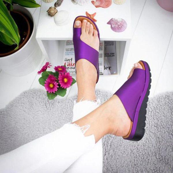 SandalesOrthopediquesPourFemmesBBG 2 Sandales Orthopédiques Pour Femmes: Sandales Plateformes Confortables Pour Femmes