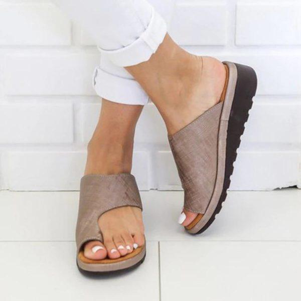 SandalesOrthopediquesPourFemmesBBG 3 Sandales Orthopédiques Pour Femmes: Sandales Plateformes Confortables Pour Femmes