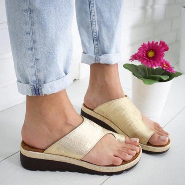 SandalesOrthopediquesPourFemmesBBG 6 Sandales Orthopédiques Pour Femmes: Sandales Plateformes Confortables Pour Femmes