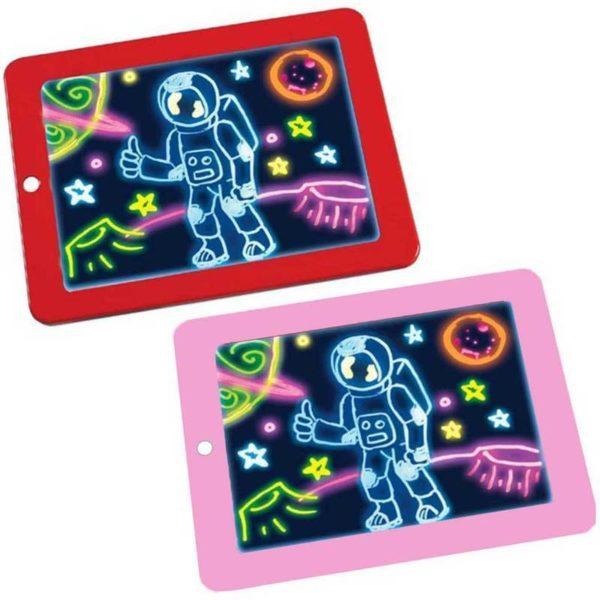 Simple a Utiliser Tablette a Dessin LED Pour Enfants 10 Tablette à Dessin LED Éducatif Pour Enfants