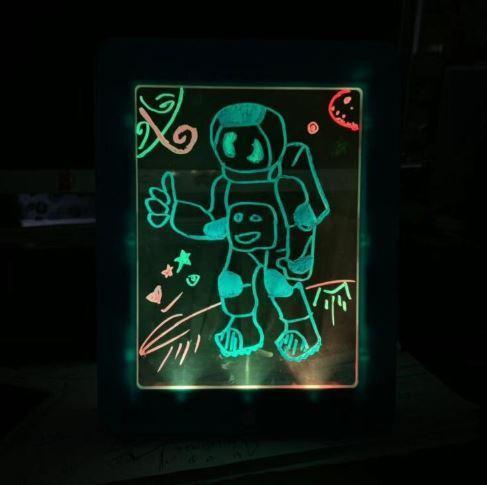 Simple a Utiliser Tablette a Dessin LED Pour Enfants 11 Tablette à Dessin LED Éducatif Pour Enfants