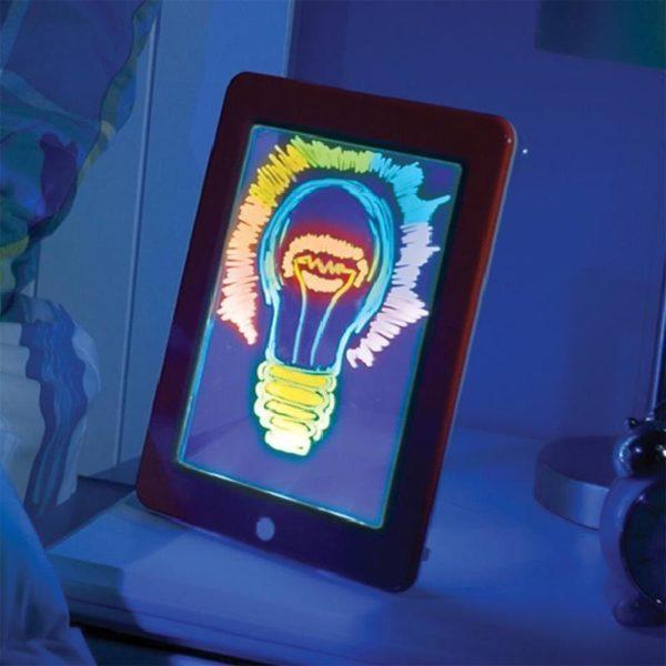 Simple a Utiliser Tablette a Dessin LED Pour Enfants 6 Tablette à Dessin LED Éducatif Pour Enfants