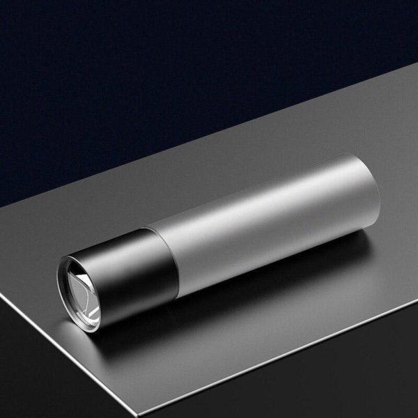 SuperHelleMiniLicht 1 Mini Lumière Extrême Brillante: Mini Lampe De Poche, À 3 Modes Usb Rechargeable Lampe De Poche