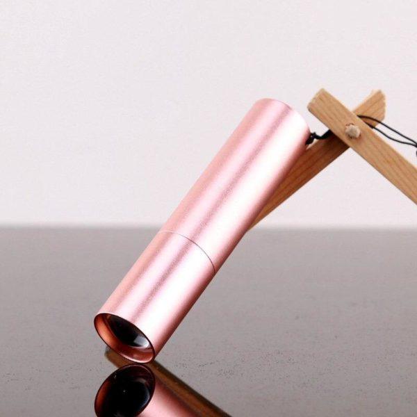 SuperHelleMiniLicht 3 Mini Lumière Extrême Brillante: Mini Lampe De Poche, À 3 Modes Usb Rechargeable Lampe De Poche