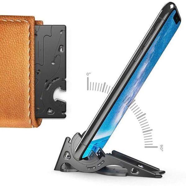 SupportDeTelephonePliable 1 Support De Téléphone Pliable: Orientez Votre Smartphone Dans N'Importe Quelle Direction