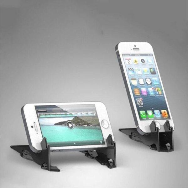 SupportDeTelephonePliable 2 Support De Téléphone Pliable: Orientez Votre Smartphone Dans N'Importe Quelle Direction