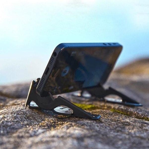 SupportDeTelephonePliable 3 Support De Téléphone Pliable: Orientez Votre Smartphone Dans N'Importe Quelle Direction