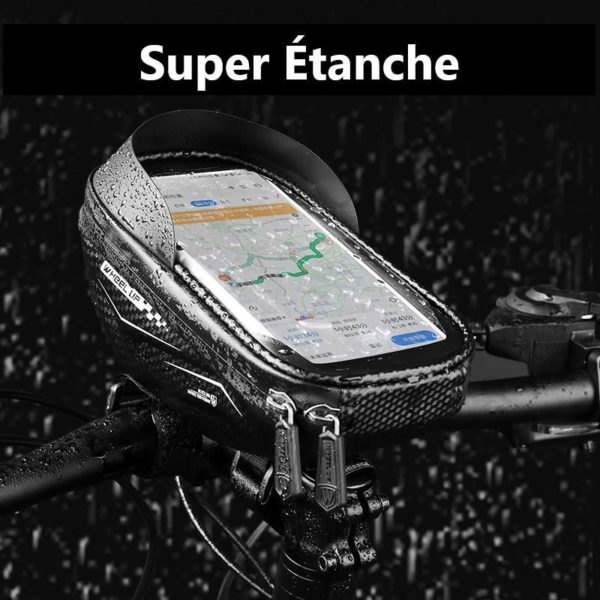 Supportdesupportdet l phonedev 20 Support de Téléphone pour Guidon Moto : Pochette Waterproof Pour Smartphone