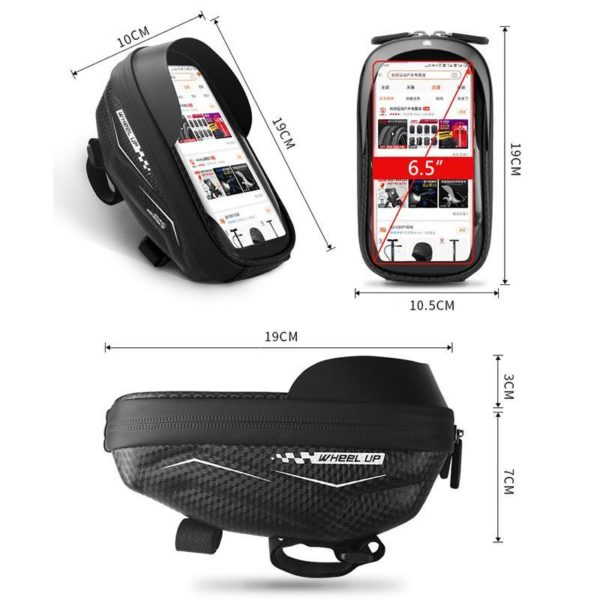 Supportdesupportdet l phonedev 22 Support de Téléphone pour Guidon Moto : Pochette Waterproof Pour Smartphone