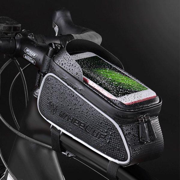 Supportdesupportdet l phonedev 26 Support de Téléphone pour Guidon Moto : Pochette Waterproof Pour Smartphone