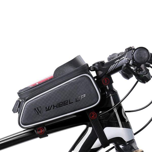 Supportdesupportdet l phonedev 30 Support de Téléphone pour Guidon Moto : Pochette Waterproof Pour Smartphone