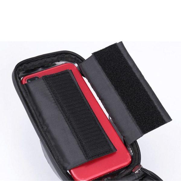Supportdesupportdet l phonedev 33 Support de Téléphone pour Guidon Moto : Pochette Waterproof Pour Smartphone