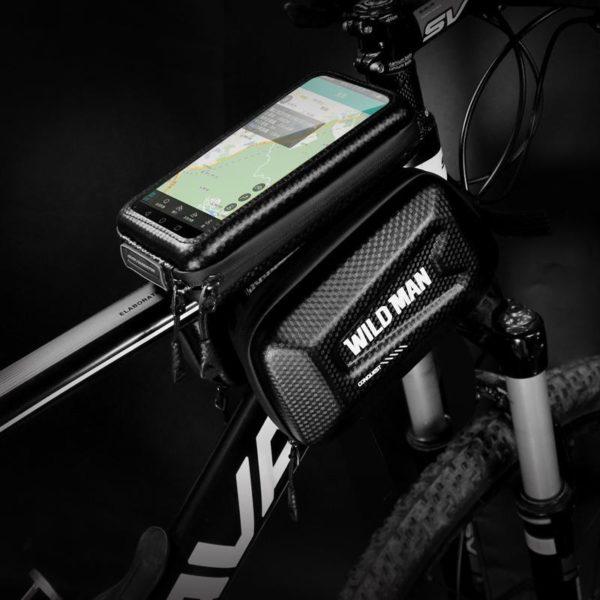 Supportdesupportdet l phonedev 36 Support de Téléphone pour Guidon Moto : Pochette Waterproof Pour Smartphone