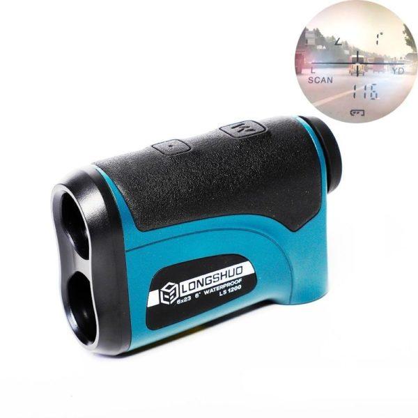 T l m tre Laser chasse 800m 1200m t lescope Laser t l m tre Golf Télémètre Laser Télescope: Rapidement Mesurer Toutes Les Distances Importantes