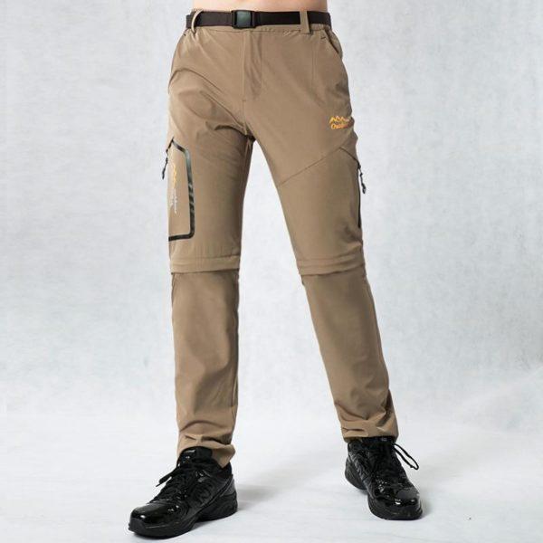 Pantalons De Randonnée En Plein Air: Vous Permet Une Grande Liberté De Mouvement - Kaki / L(68-82 cm)
