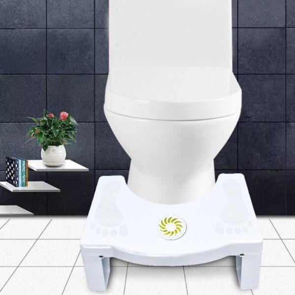 Tabouret de toilette pliable tabouret antid rapant tabouret de toilette Anti Constipation tabourets tape Portable pour e9842836 b5b9 4392 86d1 e6fb5593d542 Tabouret De Toilette Physiologique : Polypropylène Solide Et Inoffensif