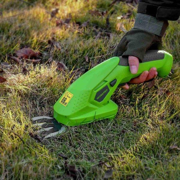 Tailleherbeelectriqueetrechargeable 10 min Taille Herbe Électrique Et Rechargeable: Tailler Avec Précision L'herbe Et Les Arbustes Dans Les Petits Espaces