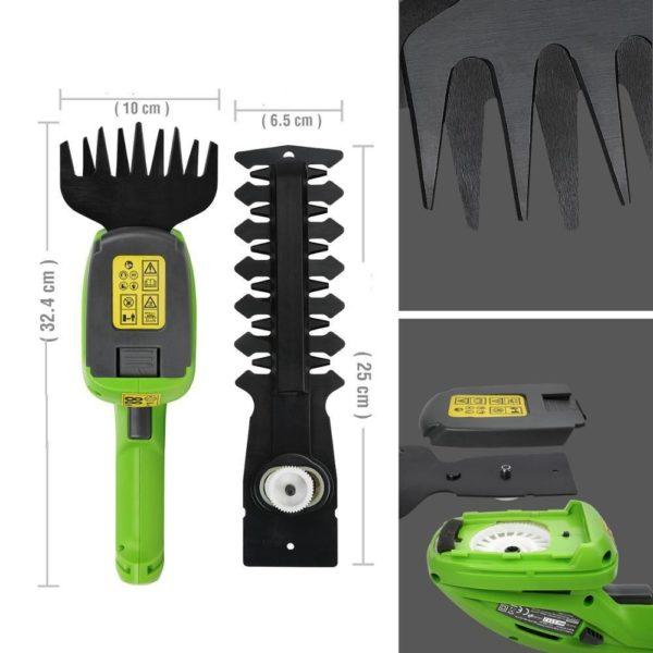 Tailleherbeelectriqueetrechargeable 7 Taille Herbe Électrique Et Rechargeable: Tailler Avec Précision L'herbe Et Les Arbustes Dans Les Petits Espaces
